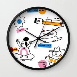 All Mi M8s Wall Clock
