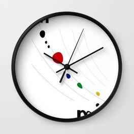 Joan Miro Wall Clock