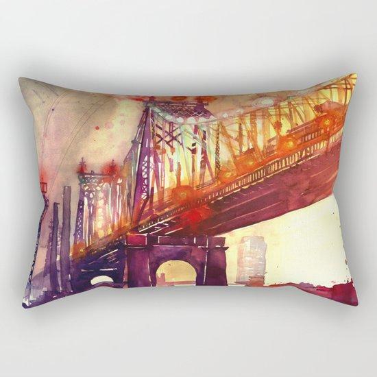Queensboro Bridge Rectangular Pillow