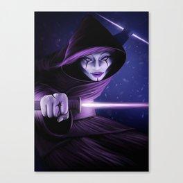 Lady Jedi Canvas Print