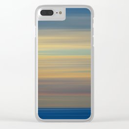 Color drift Clear iPhone Case