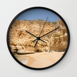 Paradise Beach Portugal Wall Clock