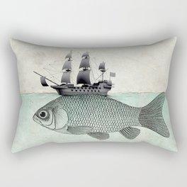 Voyage Goldfish Rectangular Pillow