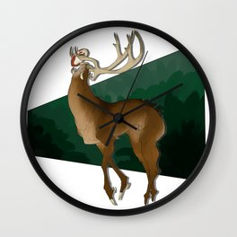 Forest Guardian  Wall Clock