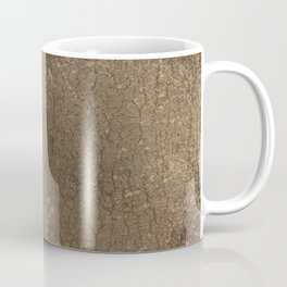 Rustic Tree Bark Pattern Coffee Mug