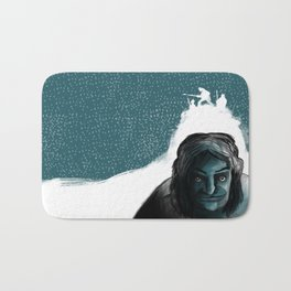 The Iceman Cometh Bath Mat