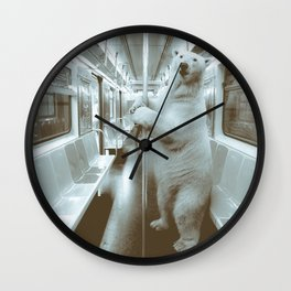 polar express Wall Clock