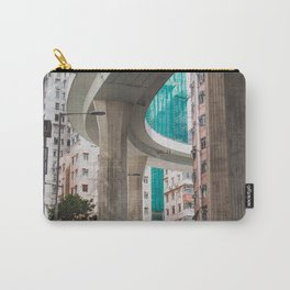 Hong Kong Street Bridge Carry-All Pouch