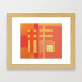 Urban Intersections 1 Framed Art Print