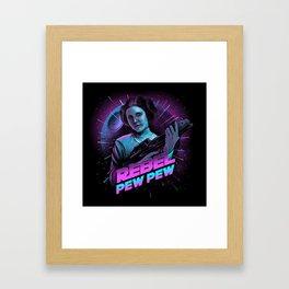 Rebel - Pew Pew Framed Art Print