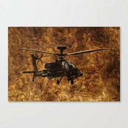 057 WAH-64D Apache Canvas Print