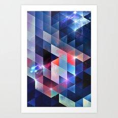 sydd vyww Art Print