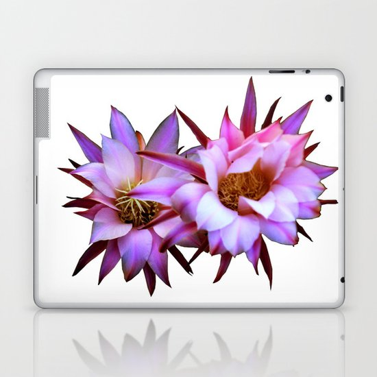 Purple cactus blossom Laptop & iPad Skin