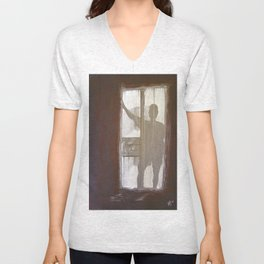 Shadowman Unisex V-Neck