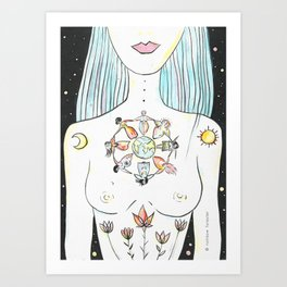 Sacred Sisterhood Art Print