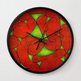 Kalatonius V1 - fancy grapevine Wall Clock