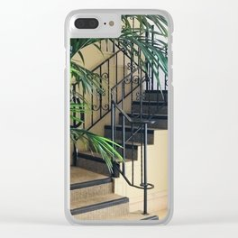 Secret Stair Steps to a Romantic Hideaway Clear iPhone Case