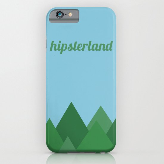 Hipsterland iPhone & iPod Case