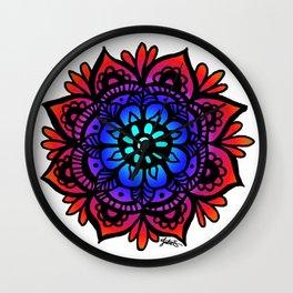 Peaceful Mandala Wall Clock