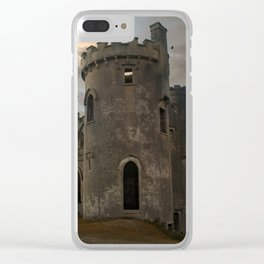 Clifden Castle at the sunset Clear iPhone Case
