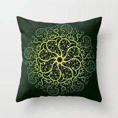 Trepadora Verde Throw Pillow