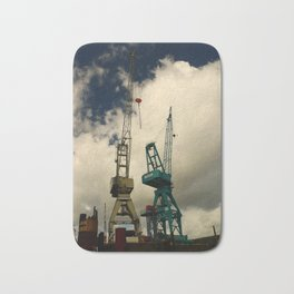 Harbor Crane Bath Mat