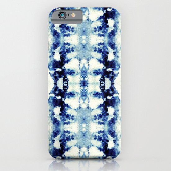 Tie Dye Blues iPhone & iPod Case