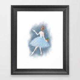To the Ball Framed Art Print