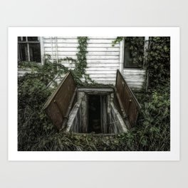 Our door is always open. Art Print