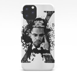 Malcolm X Stand Tall iPhone Case