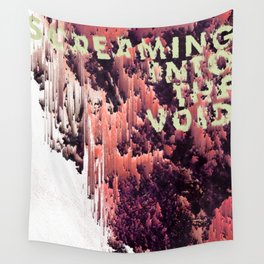 screaming into the void Wall Tapestry