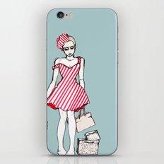 Frazzled Shopper iPhone & iPod Skin
