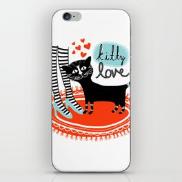 Kitty Love iPhone Skin