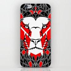 Black Lion iPhone & iPod Skin