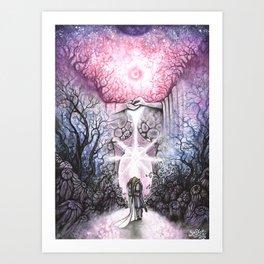 Les Lunes et les Siècles Passeront Art Print