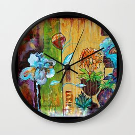 Santa Fe Garden Wall Clock