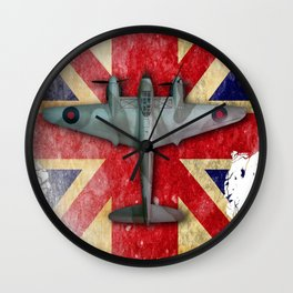 Mosquito NF MkII Wall Clock