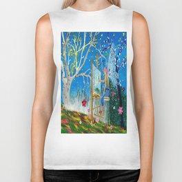 Fairy Artist Biker Tank