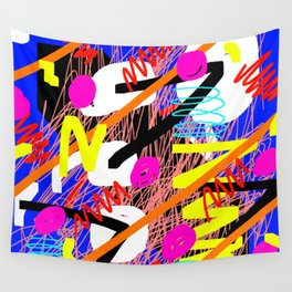SQUIZZY PATTERN Wall Tapestry