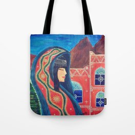 Balqees Alyemen Tote Bag