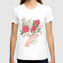 Hand bouquet T-shirt