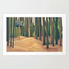 Treehouse Art Print