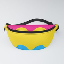 Wavy Pansexual Flag Fanny Pack