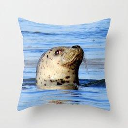 Lookin' At Me? Throw Pillow