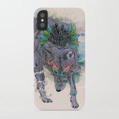 Journeying Spirit (wolf) Slim Case iPhone X
