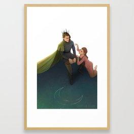 Der Erlkonig Framed Art Print