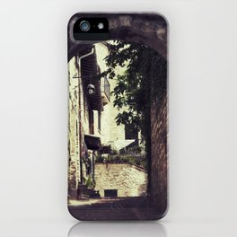 Ancient Alley iPhone Case
