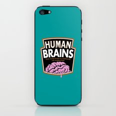 Human Brains iPhone & iPod Skin