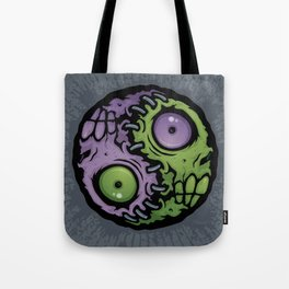 Zombie Yin-Yang Tote Bag