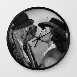 Sloth in Casablanca Wall Clock